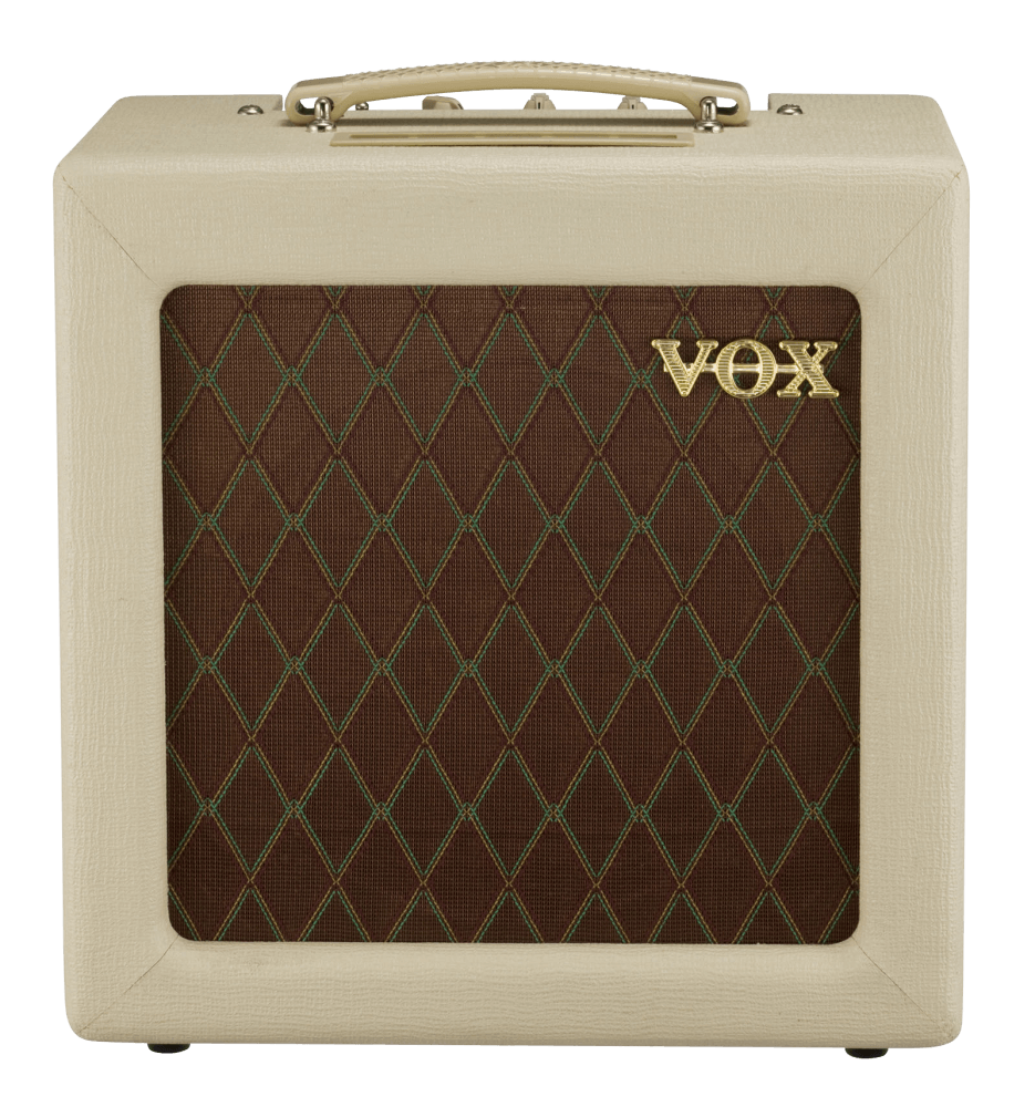 front view of brown and cream VOX AC4TV