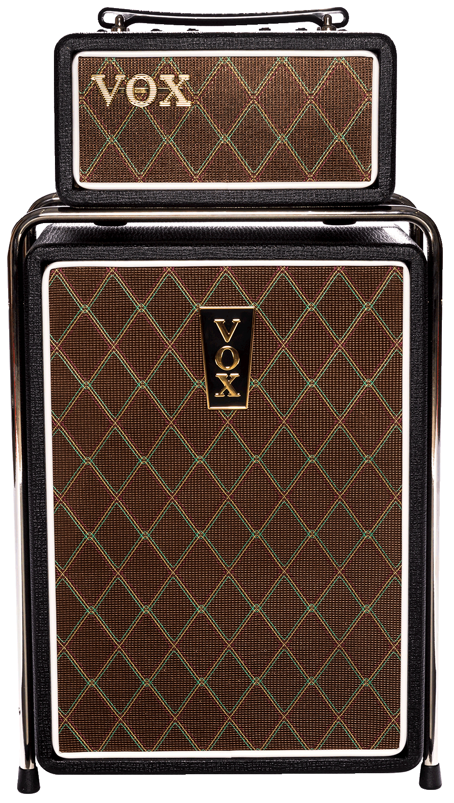 front view of brown and black VOX Mini Superbettle