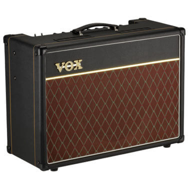 Vox AC15C1 angled front and left side view