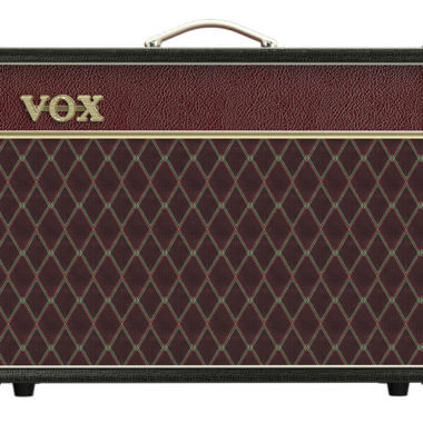 front view of VOX amplifier
