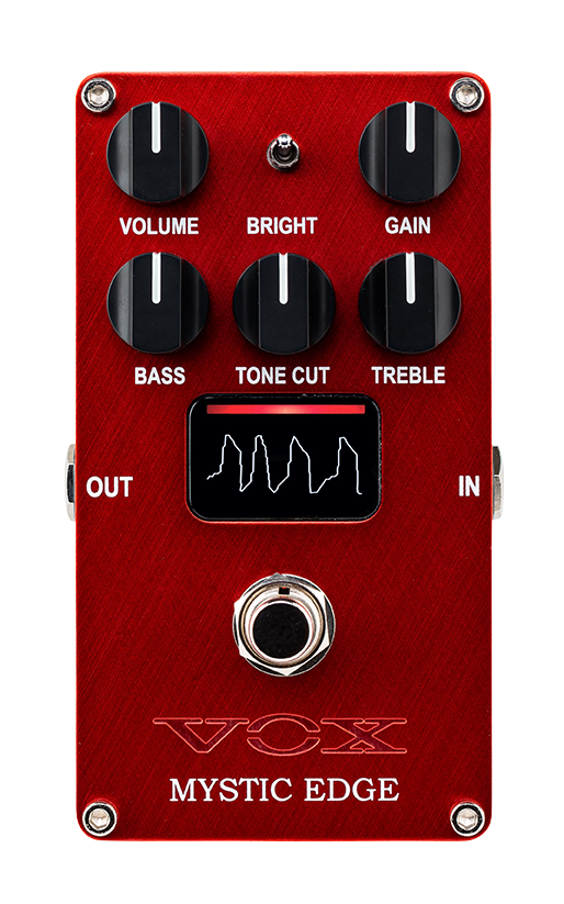 red VOX Mystic Edge pedal