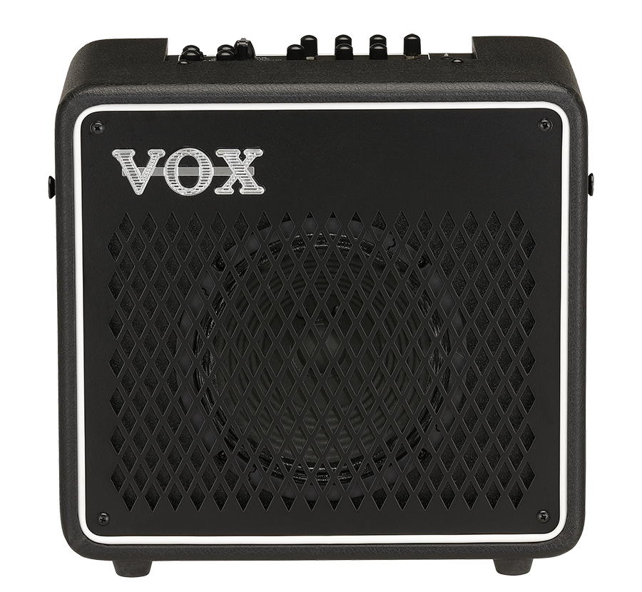 front of VOX Mini Go amplifier