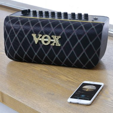 VOX AudioAir GT behind white iphone