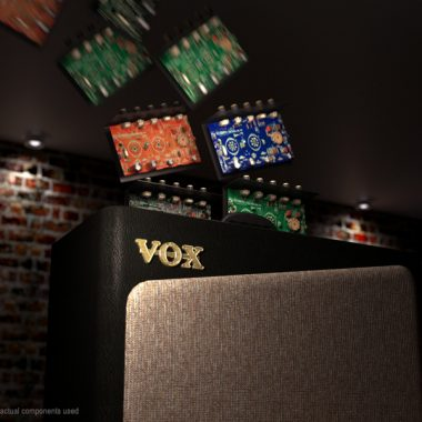 Circuits fling out of VOX amplifier