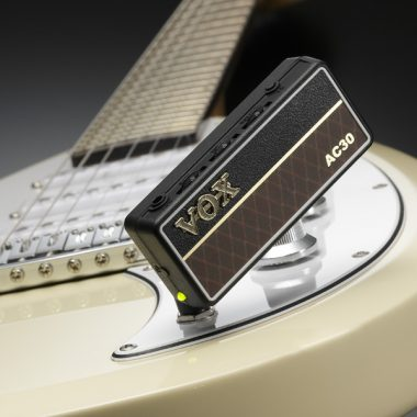 VOX AmPlug plugged in to electric guitar
