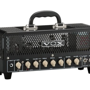black VOX amplifier head