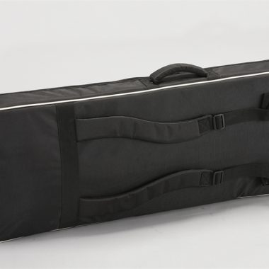 back of black VOX keyboard bag