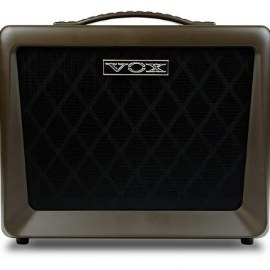 front of VOX amplifier