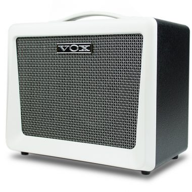 white VOX amplifier